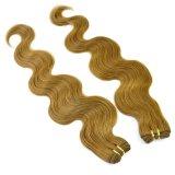 Trama humana do cabelo de Remy da onda do corpo da cor #8
