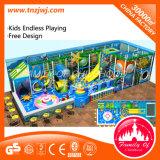 Увеселительный игровая площадка для использования внутри помещений мягкая игровая площадка
