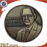 Vecchie monete del regalo del metallo commemorativo su ordinazione 3D di promozione