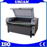 피복 면 가죽 직물 기업을%s CNC Laser 자동 지류 기계