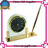 Orologio di legno della Tabella del quarzo di alta qualità
