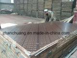 Usine certifiée ISO Ce film de 18mm de la construction fait face à face avec de contreplaqué brun