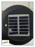 Angeschaltene helle Solarleuchte des garten-LED