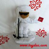 詰められた人形のスポーツのゲームの`Sのマスコット