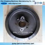 moulage de précision de la pompe chimique Goulds 3196 couvercle de pompe