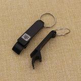 Laser-Firmenzeichen-Metallaluminiumflaschen-Öffner Keychain auf Verkauf