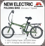 20 Zoll elektrisches Fahrrad Lithium-Ionfahrrad faltend