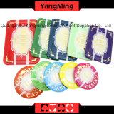 Набор микросхем казина chipset/изготовленный на заказ пластичный акриловый с алюминиевым случаем (YM-SCMA001)