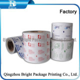 El papel de aluminio de papel para embalaje de toallitas de limpieza en húmedo