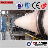 Four rotatoire pour la production active de limette