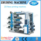 Nouveau modèle d'allégement de la machine d'impression flexographique pour un film plastique et papier (RY6600-61000)