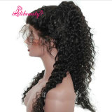 Фигурные кружева передней человеческого волоса парики для чернокожих женщин пре Plucked 130% плотность волос Бразилии