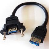 USB een V3.0 Wijfje aan de Koppeling van de Contactdoos/het Flard Cable&ndash van de Schrijnwerker; Het Comité zet Adapter (9.3105) op