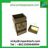 Rígido de lujo personalizado de gama alta de la caja de Vino Caliente el Sello de Oro caja de embalaje de regalo