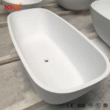 Superficie sólida independiente moderno piedra 150cm bañera rodean
