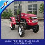 前部ローダーが付いているそのうち農業の中国の小さい庭のトラクター