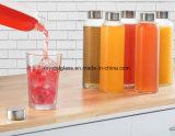 Mineralwasser-Flasche der freie Beispiel10oz 14oz 18oz mit Splitter-Kappe