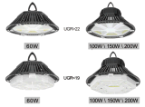 Horário de 1-10V/Dali Depósito Dimerizáveis UFO High Bay luzes LED 100W
