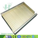 Comitati compositi di alluminio ondulati per il rivestimento della parete