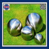 Корпус из нержавеющей стали полый шарик сфере матовой отделки для украшение