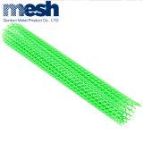 Malla de alambre de plástico de alta calidad red plana de plástico