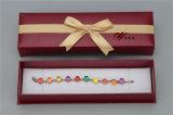 3 لون ورق مقوّى & [لثرتّ] ورقيّة مجوهرات [ستورج] صندوق