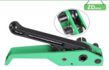 Tool Banding TensionerおよびCutter、Buckle Requireを紐で縛ること