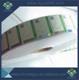 Упаковка уплотнение безопасности наклейку с голограммой горячей штамповки
