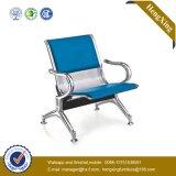Moderne Blauwe Ce Goedgekeurde Materiële het Wachten van de Luchthaven Stoel (NS-pa29-5)