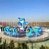 Juego de agua de la isla de tiburón el Equipo de Parque de Atracciones Atracciones para juegos al aire libre