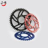 Delizioso colore assale a catena per biciclette in alluminio di alta qualità, CNC Milling Services, parti di ricambio