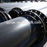 Китай на заводе перфорированные HDPE трубы PE100 450 мм перетягивание трубопровода