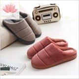 L'Aise hiver chaud Mesdames Chaussures intérieure de la peau de mouton pantoufle en peluche
