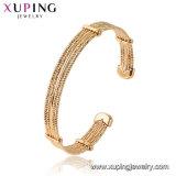 Royal Gold-Plated Hotsales Xuping Moda Bisutería brazalete con aleación de latón y