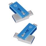 OTG012 이중 사용 USB 플래시 디스크 인조 인간 공용영역 64MB-64GB