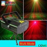 El Control de voz discoteca iluminación de escenario luz láser verde
