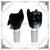Los nuevos recipientes de cristal de vidrio Accesorios Fumar pipas Batman Bowl