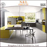 熱い販売の食器棚の木製のベニヤシリーズ台所家具