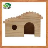 Nation Eclat Hedgehogs Cage Cage de Hamster Cage de Guinée Trou de lapin Jouet en bois Maison Observation Deck Toys