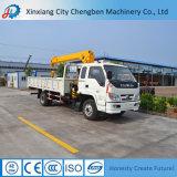 La Cina ha fatto il camion caratterizzare la gru montata trattore del braccio dell'oscillazione