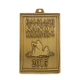 Medaglia antica su ordinazione di maratona del banco per il regalo