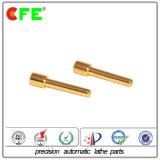 CNC de Delen van de Draaibank van de Precisie met Gouden Plateren