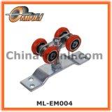 より軽いハングのドア(ML-EM004)のための打つブラケットのローラー