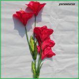 Giglio falso di seta dei fiori artificiali di alta qualità per la decorazione domestica di cerimonia nuziale