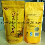 Hotsale 신식 비닐 봉투는 음식을%s 지퍼를 가진 주머니를 또는 마른 과일 또는 차 위로 서 있다