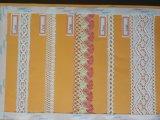 Baumwollgarn-computergesteuerte Spitze-Stickerei-Maschine