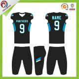 Secar los uniformes de encargo libres aptos del fútbol americano del OEM con la sublimación