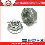 최신 판매 DIN 6923 hex 플랜지 견과