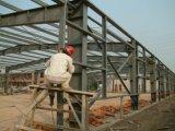 Oficina de aço pintada para a construção de aço logística da indústria