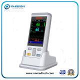 ホーム使用のための携帯用手持ち型のパルスの酸化濃度計